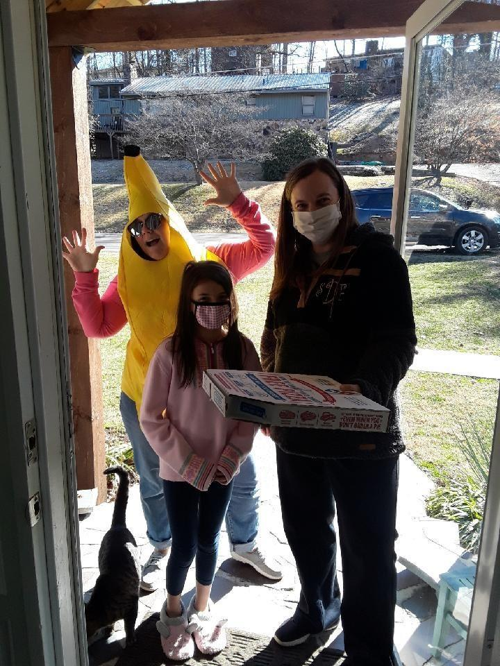 Pizza winner for After School participation.