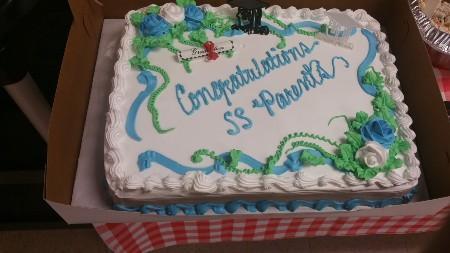 School Smarts graduation cake
