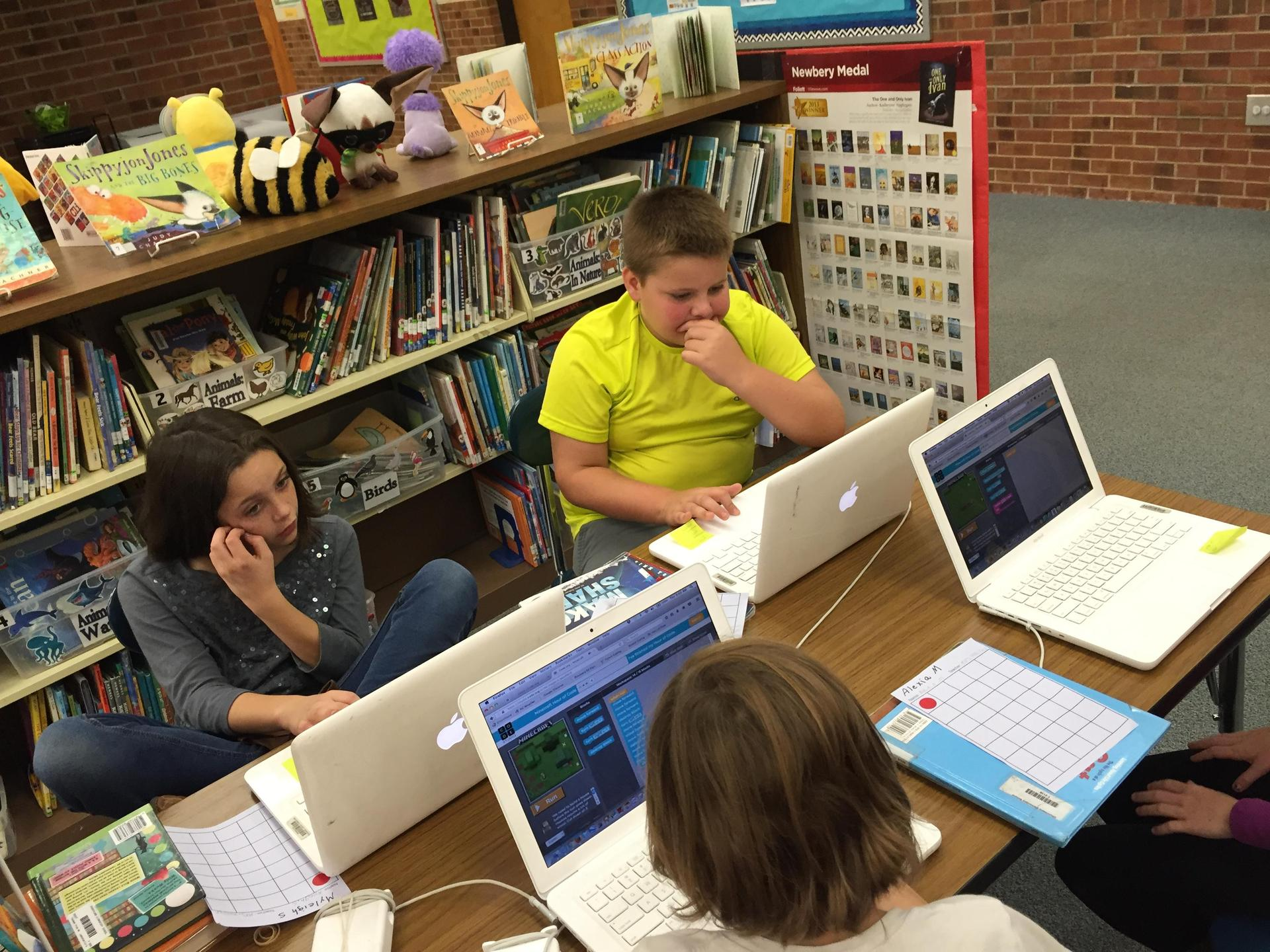 Coding using Hour of Code