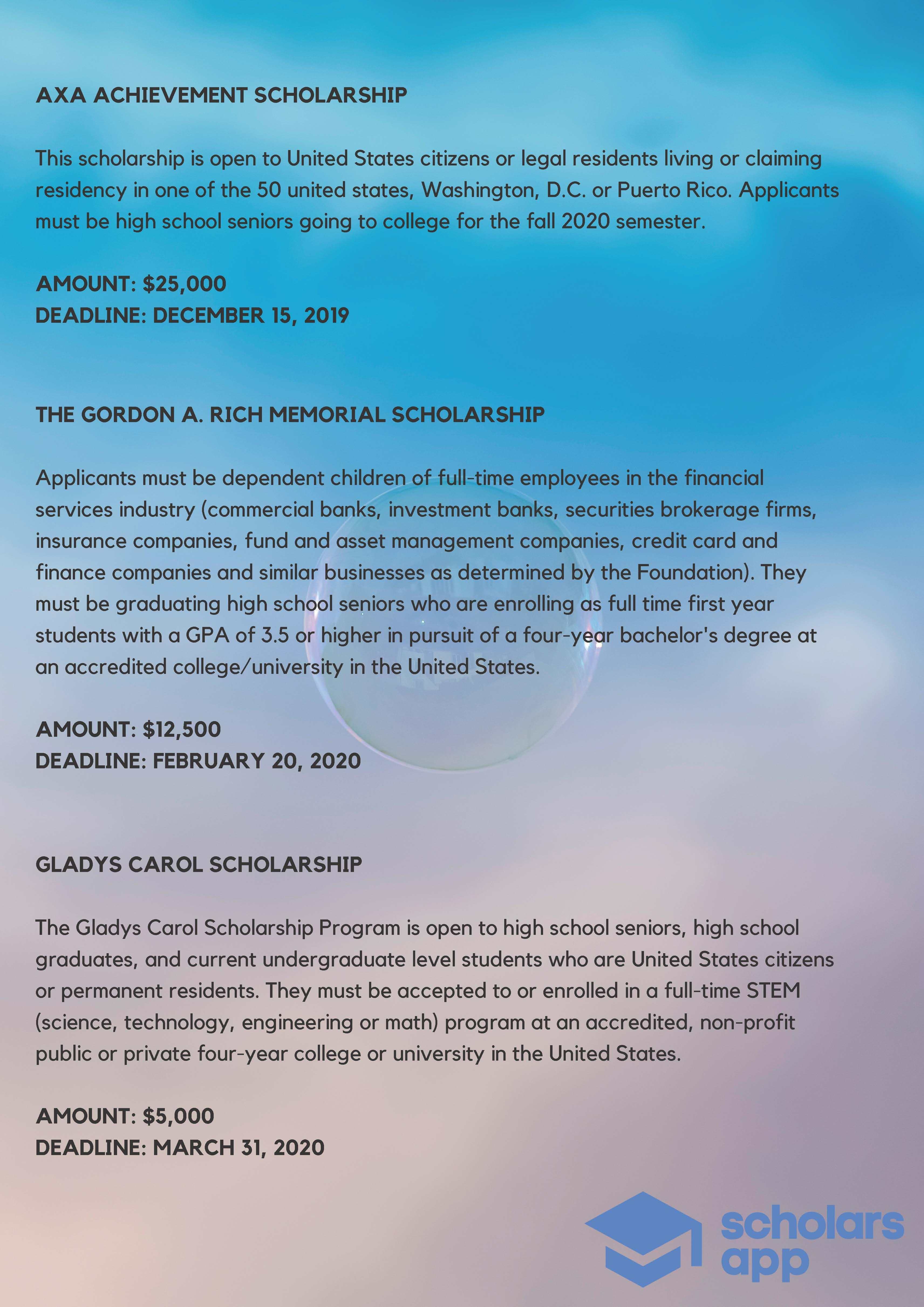 Scholarships For College >> College Scholarships Available For Fall 2020 Humber