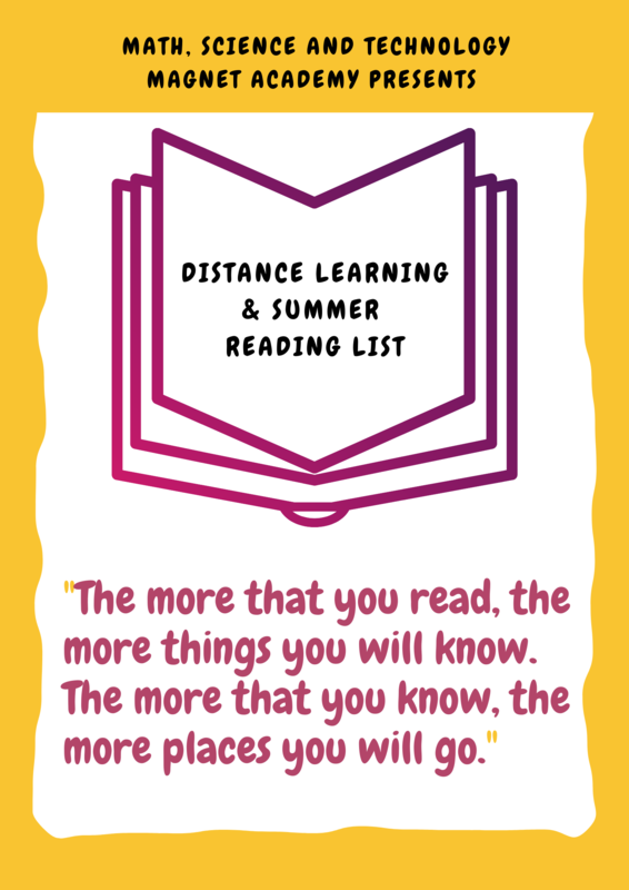 MSTMA Distance Learning/Summer Reading List Now Available! ¡Lista de Lectura de MSTMA Ahora Disponible! Featured Photo