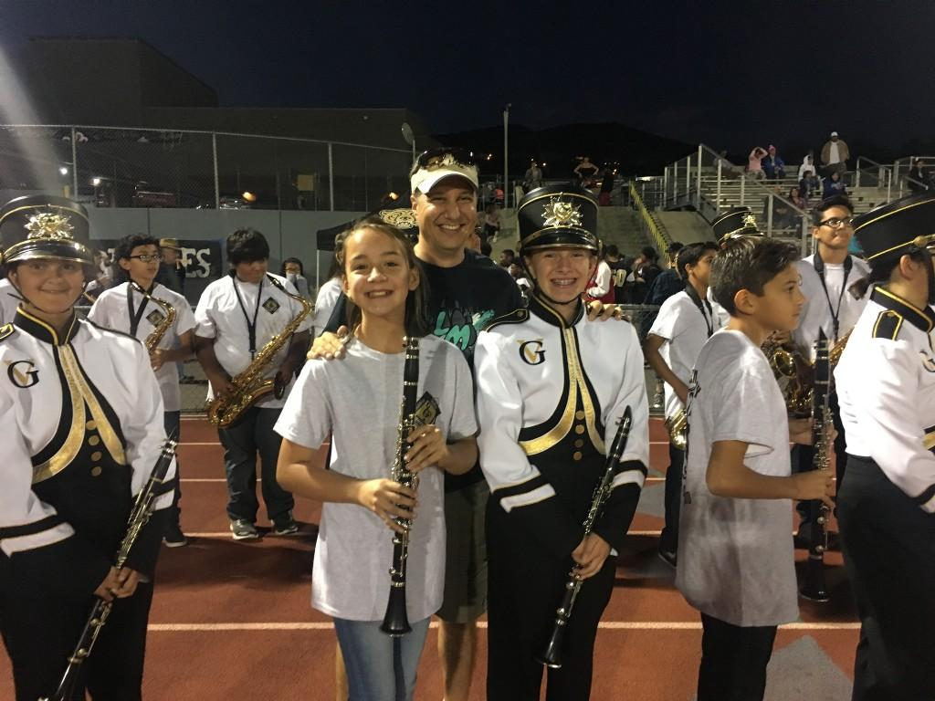 La Mesa Band performs at Golden Valley Football