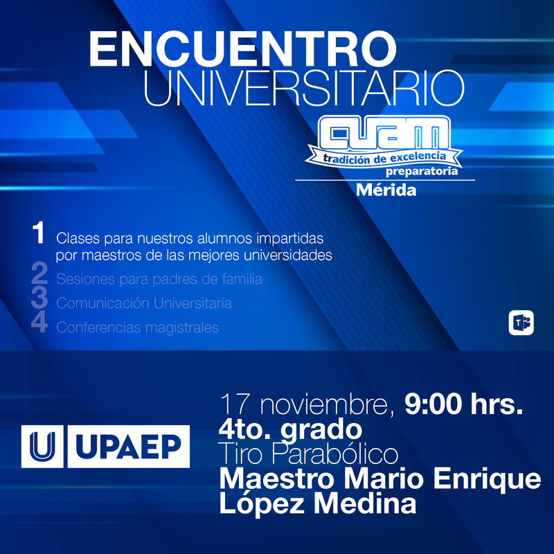 ENCUENTRO UNIVERSITARIO CUAM - UPAEP Featured Photo