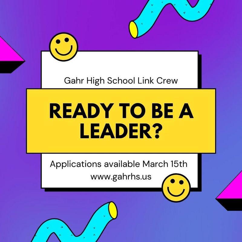 Link Crew Leader Poster