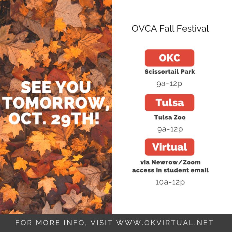 Fall Festival is TOMORROW! Featured Photo