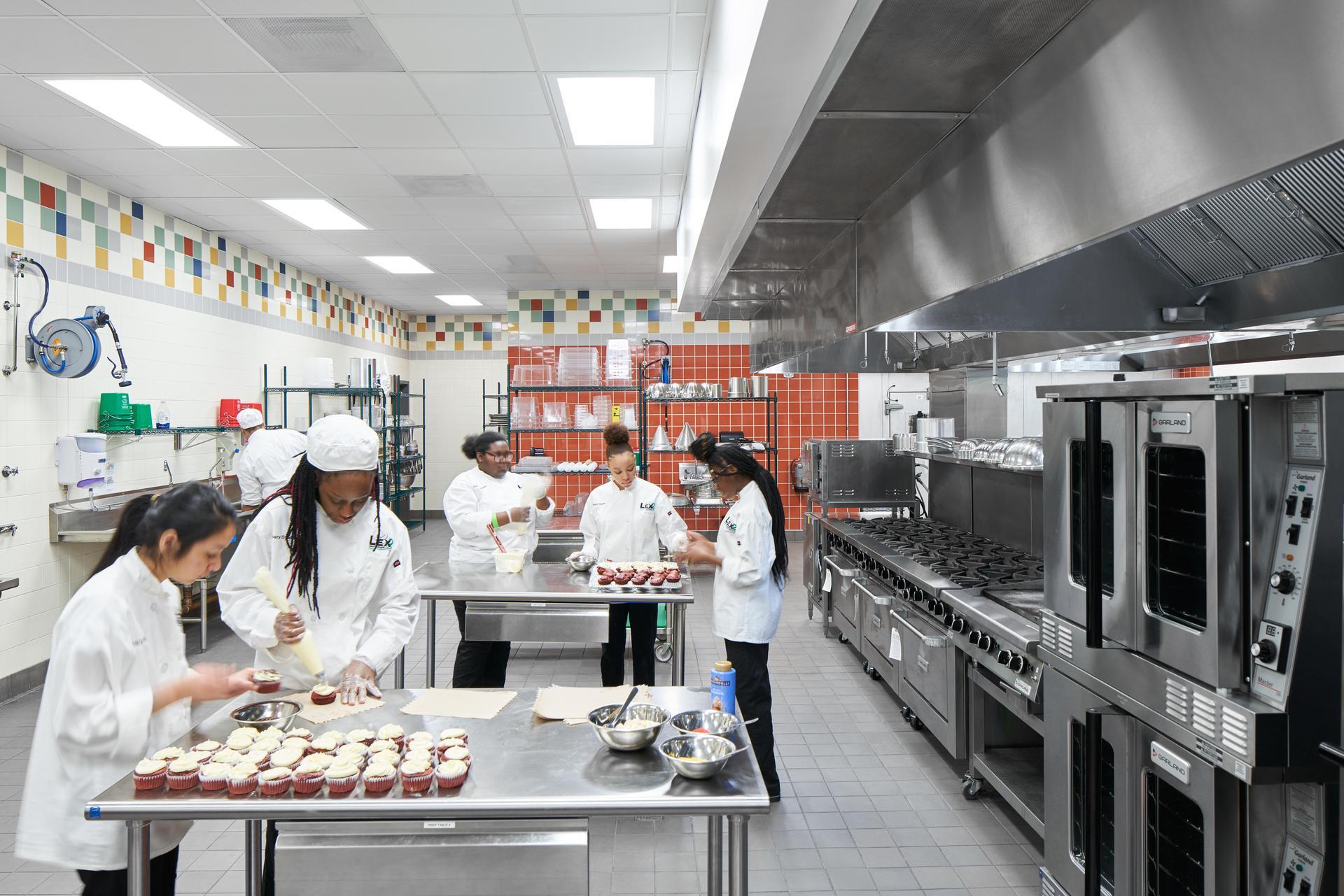 Lexington 2 Innovation Center Culinary Arts Center Kitchen