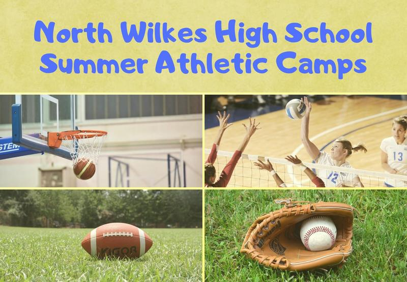 Summer Athletic Camps - Click for More Information Thumbnail Image