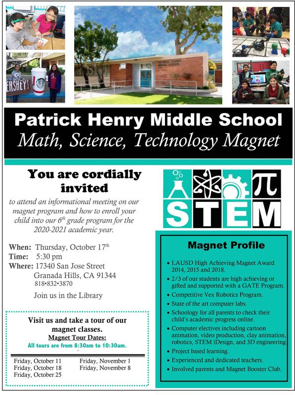 STEM 5th Grade Tours Featured Photo