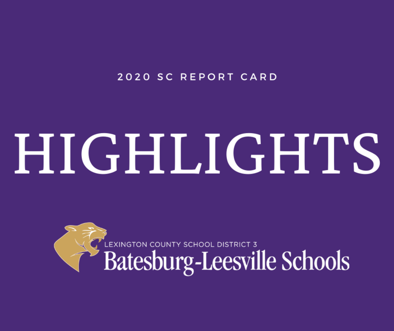Lexington Three Sees Growth In Numerous Areas On 2020 State Report Cards