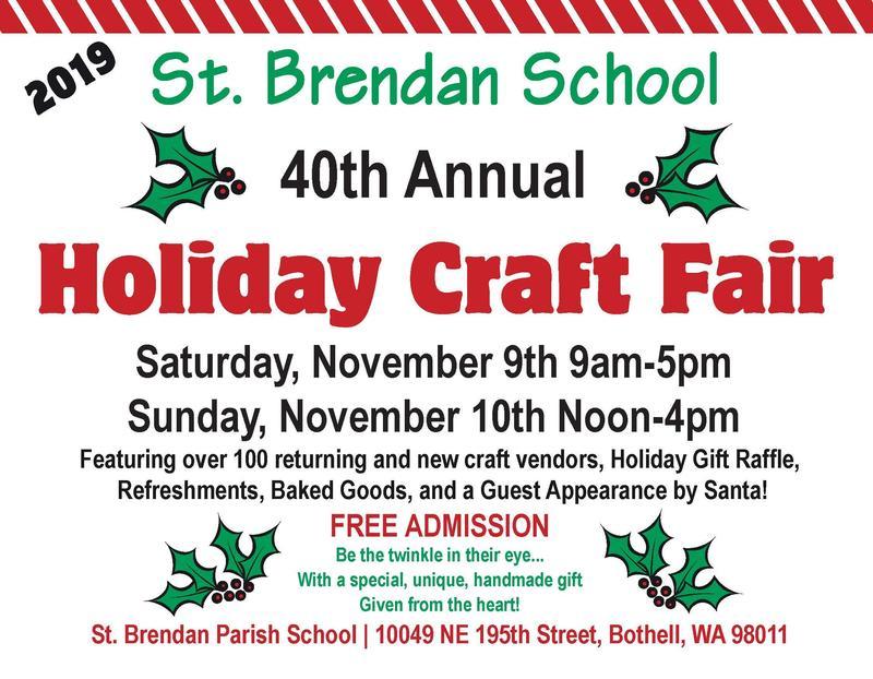 St. Brendan Craft Fair Featured Photo
