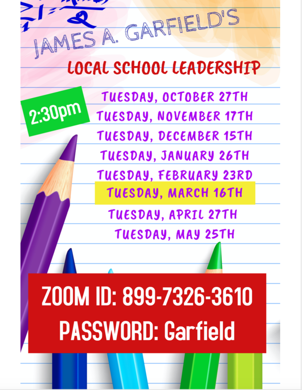 James A. Garfield Local School Leadership