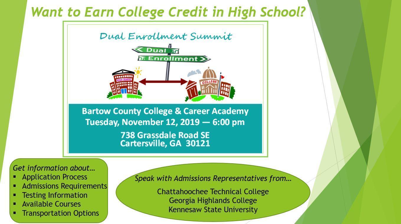 Dual Enrollment Summit