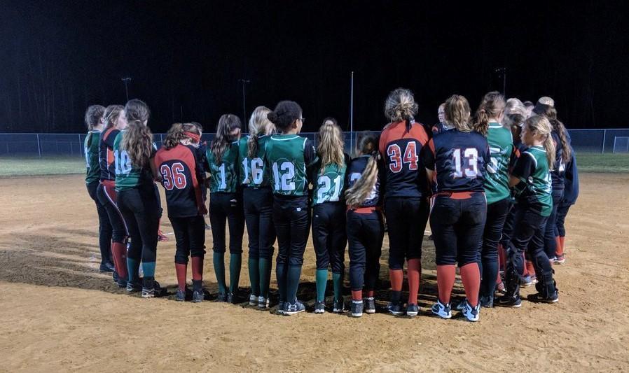 2017-2018 GMS Softball