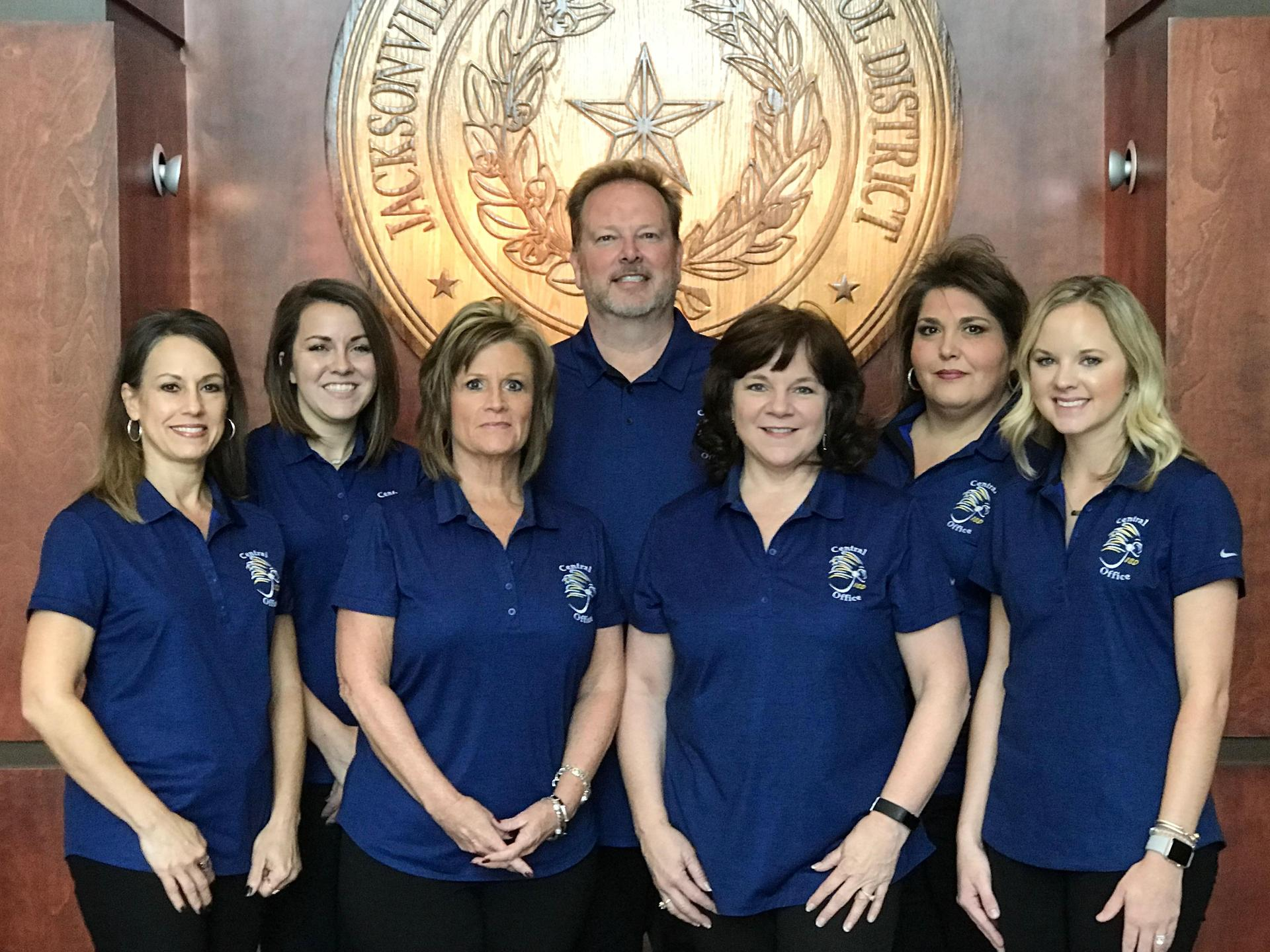 JISD Business Office staff
