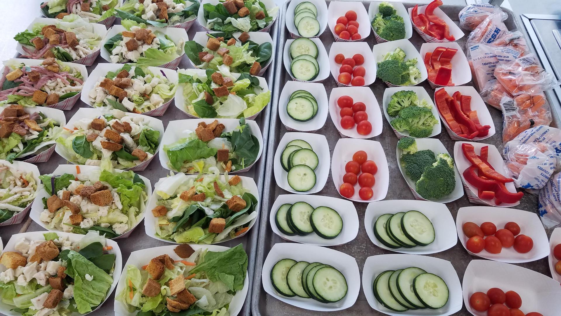 MMS Style Salad Bar