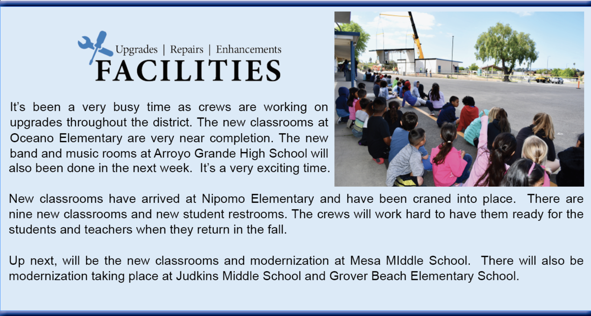 Nipomo Elementary is getting new classrooms