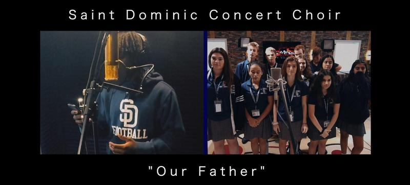 St. Dominic Concert Choir Records the