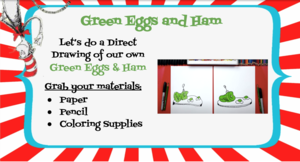 Green eggs and ham assignment directions