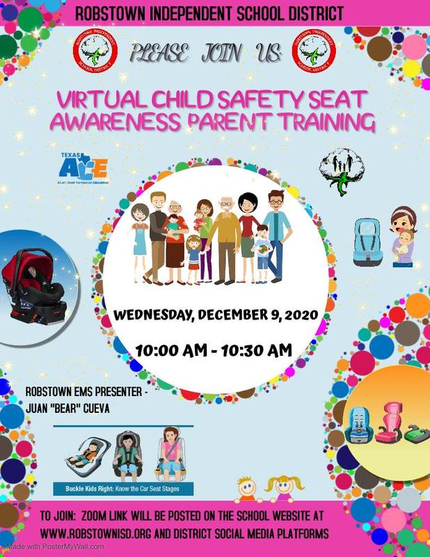 Virtual Child Safety Seat Awareness Parent Traning Featured Photo