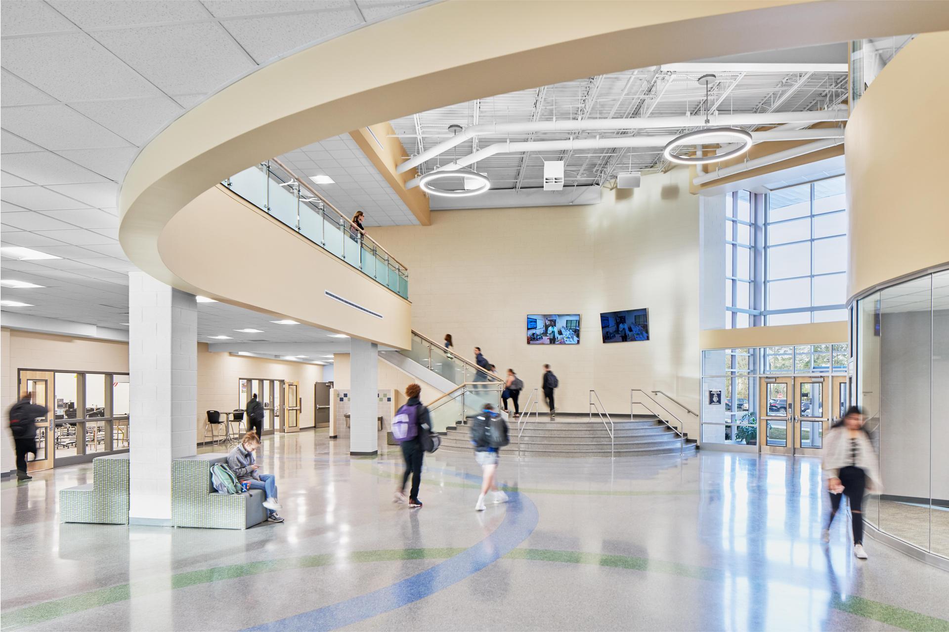 Lexington 2 Innovation Center Rear Lobby