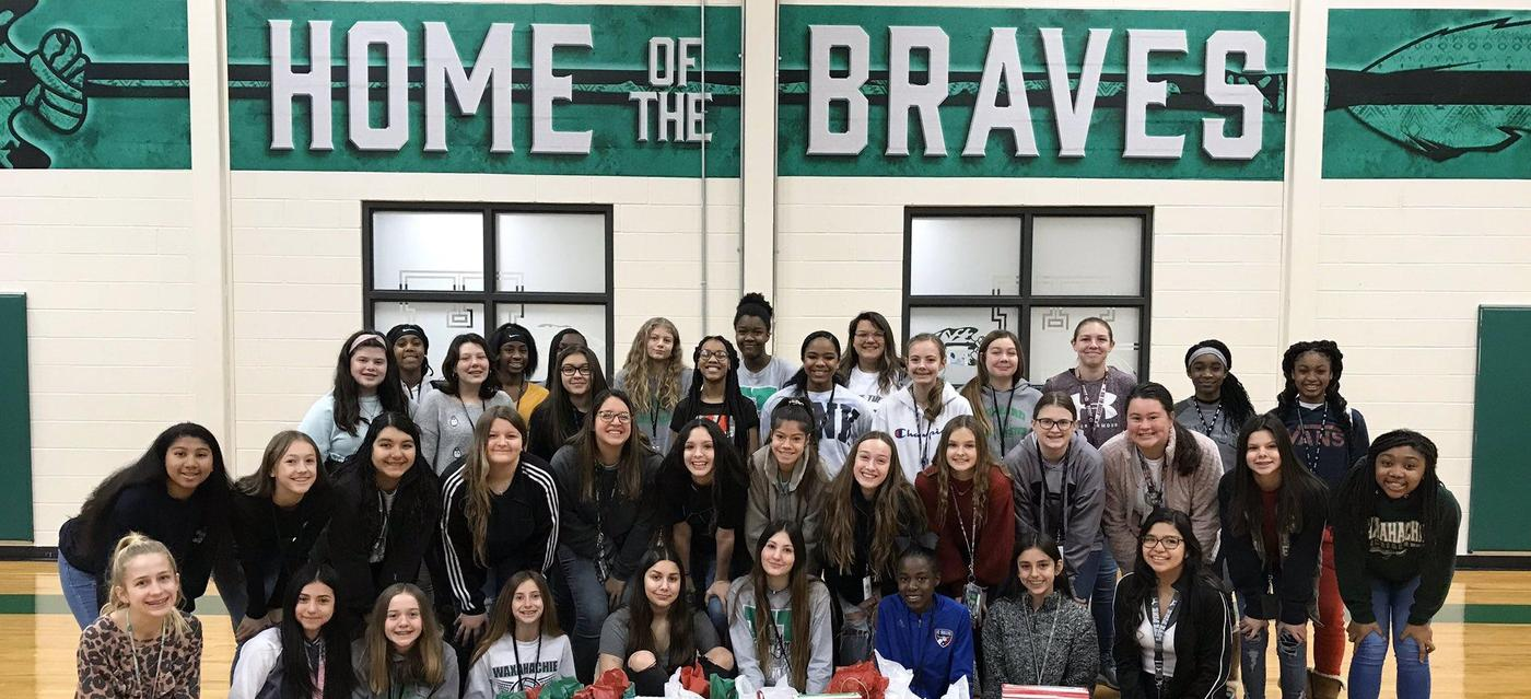 Howard Lady Braves group picture