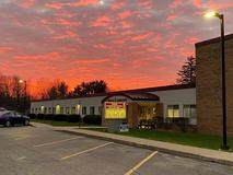 Sunset at North School