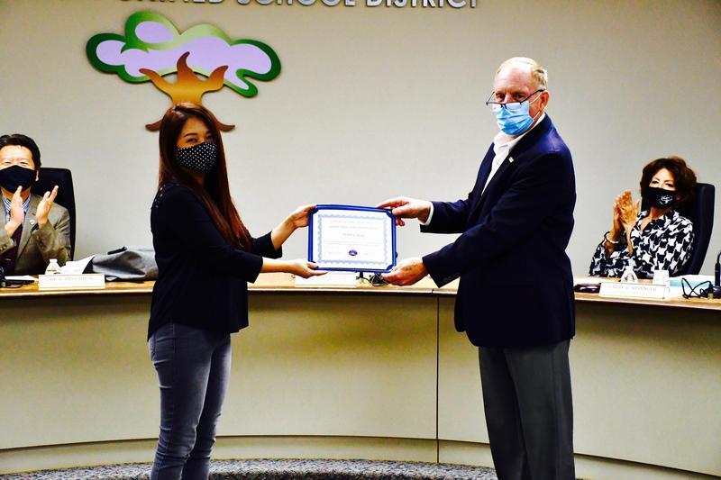 Trustees Honor Vejar Elementary Stars Featured Photo