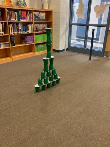 STEM Activity- Christmas Tree Tower