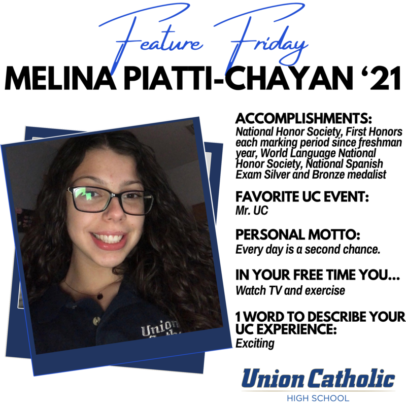 Melina Piatti-Chayan shines in classroom and on Forensics Team at Union Catholic Thumbnail Image