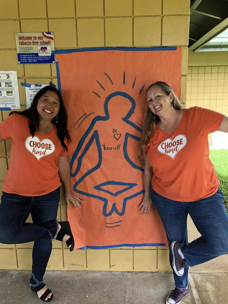 Unity day art with artist Mrs. Academia