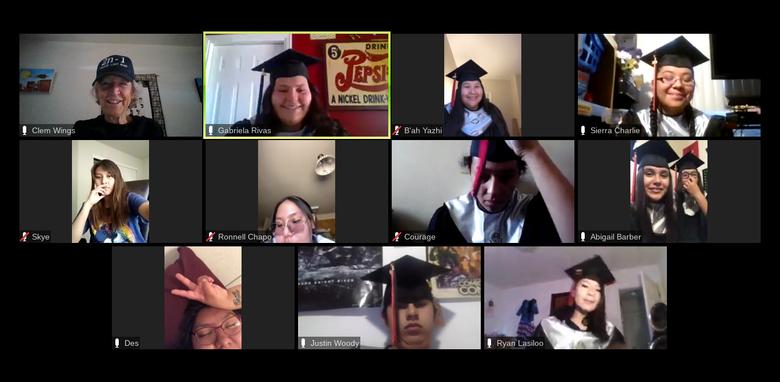 Ms. Wings 2020 Graduating Class