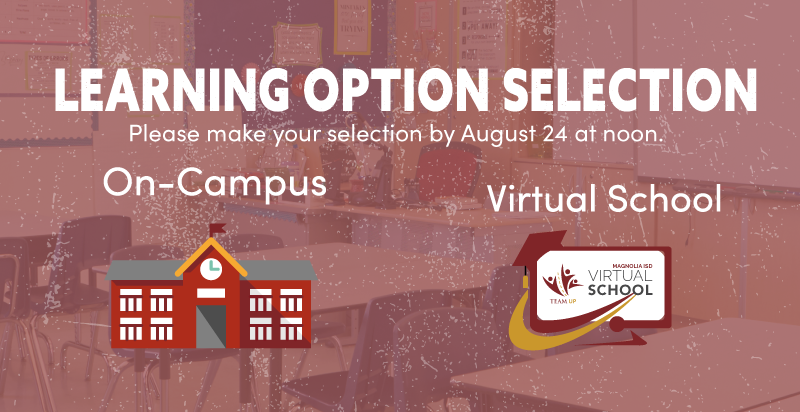Magnolia ISD Learning Option Selection
