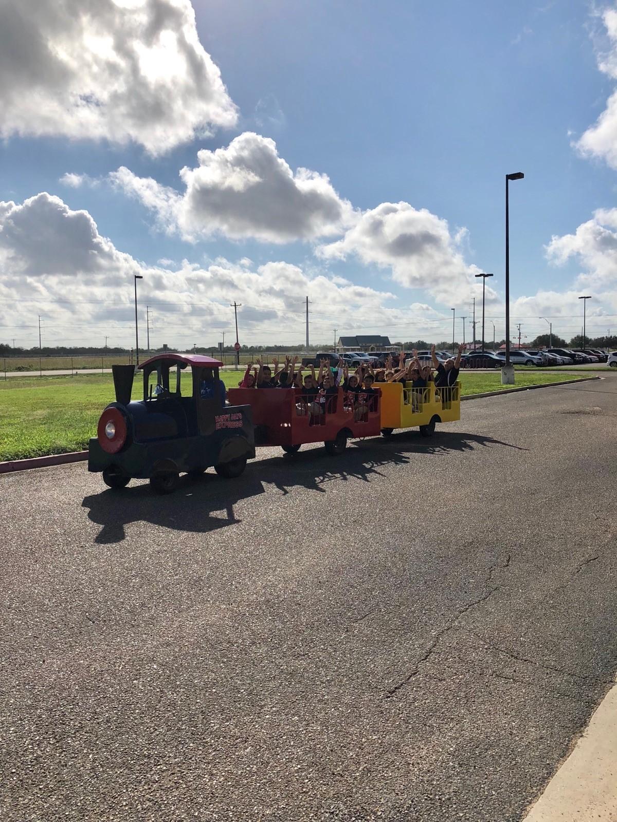 Image of AR celebration 2017-2018 train ride