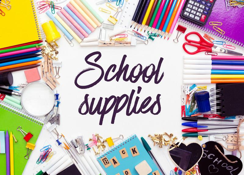 2021-2022 Student Supply List Featured Photo