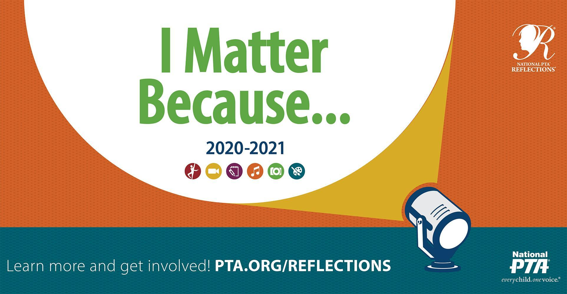 New 2020-2021 PTA Reflections Information
