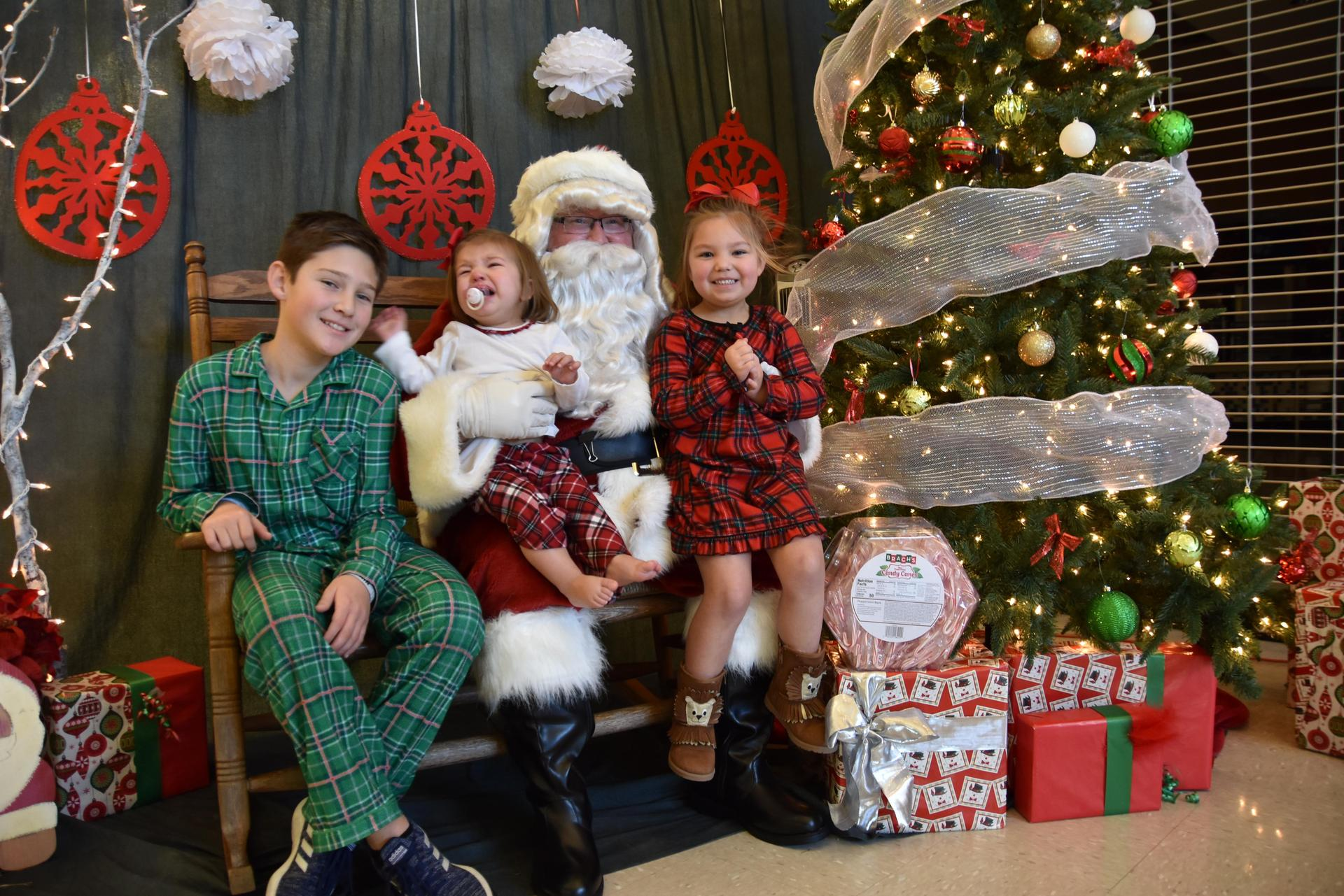 The WSISD Education Foundation and the White Settlement Chamber of Commerce sponsored our 3rd annual Pancakes with Santa event on Dec. 1, which included free photos with Santa.