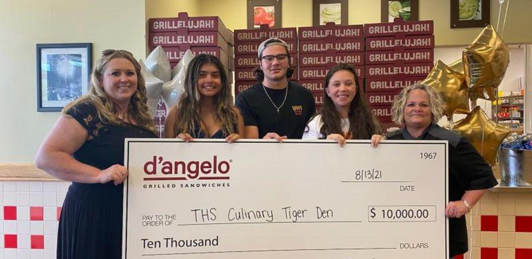 THS Wins D'Angelo's Competition