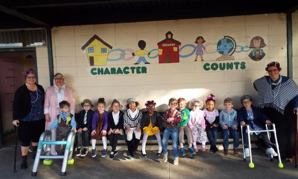 Pre-K 100th day of school 2019
