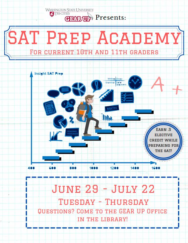 SAT Prep Academy: June 29-July 22