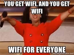 Oprah Wifi