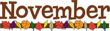 November 2020 Calendar Featured Photo