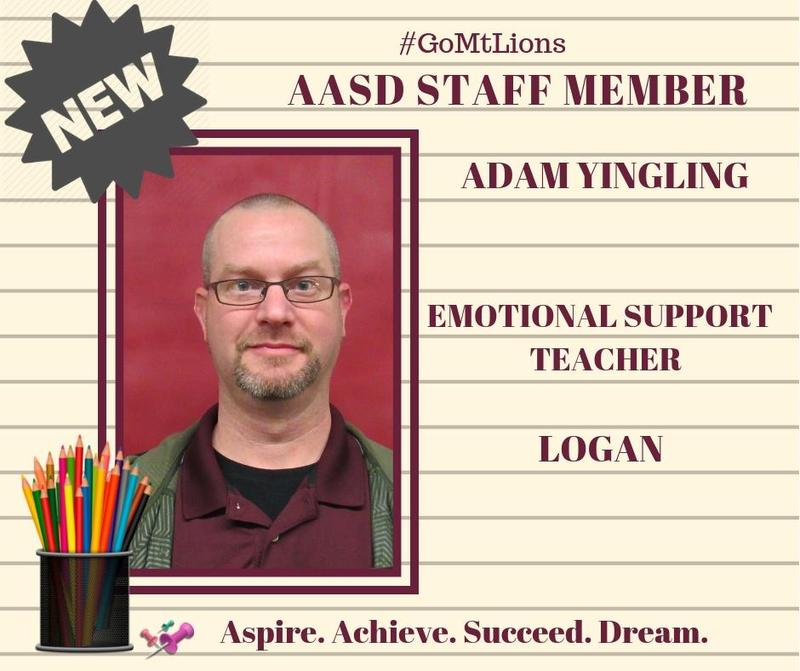 Welcome to AASD New Staff Member Thumbnail Image