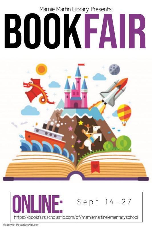 Mamie Martin Book Fair - Sept. 14-27 Thumbnail Image