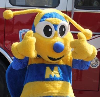 Stinger, the Matthews mascot