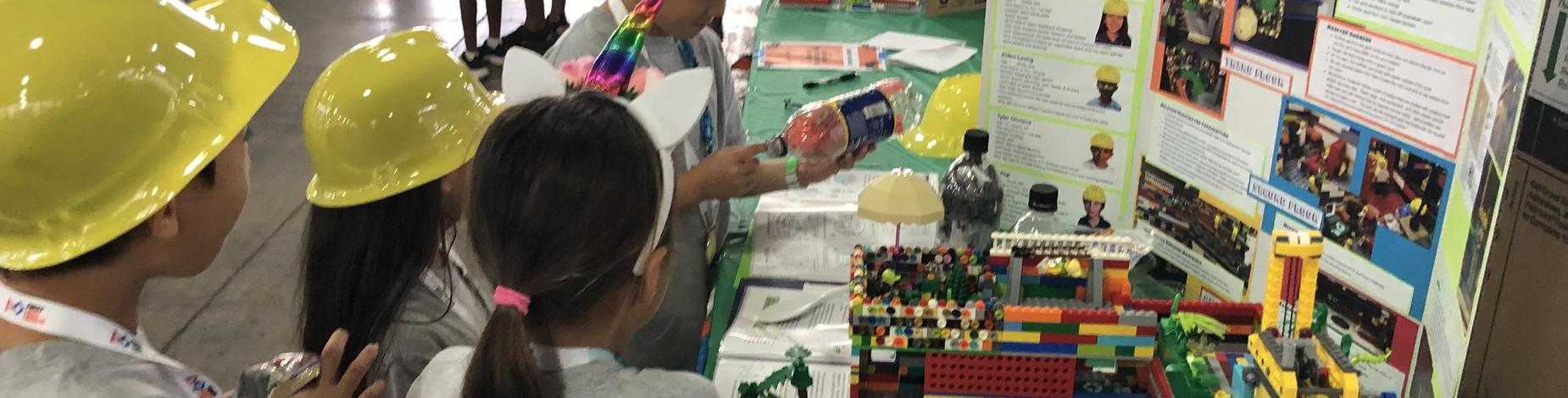 JR. FLL projects from 35 schools! Grades 2nd-4th also presented at the State Tournament!