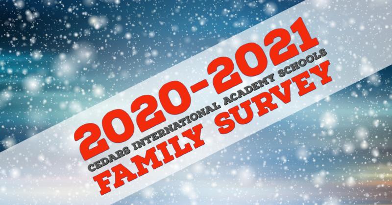 2020-2021 Family Survey
