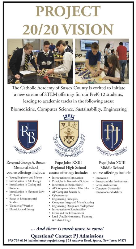 Catholic Academy of Sussex County announces Project 20/20 VISION Thumbnail Image