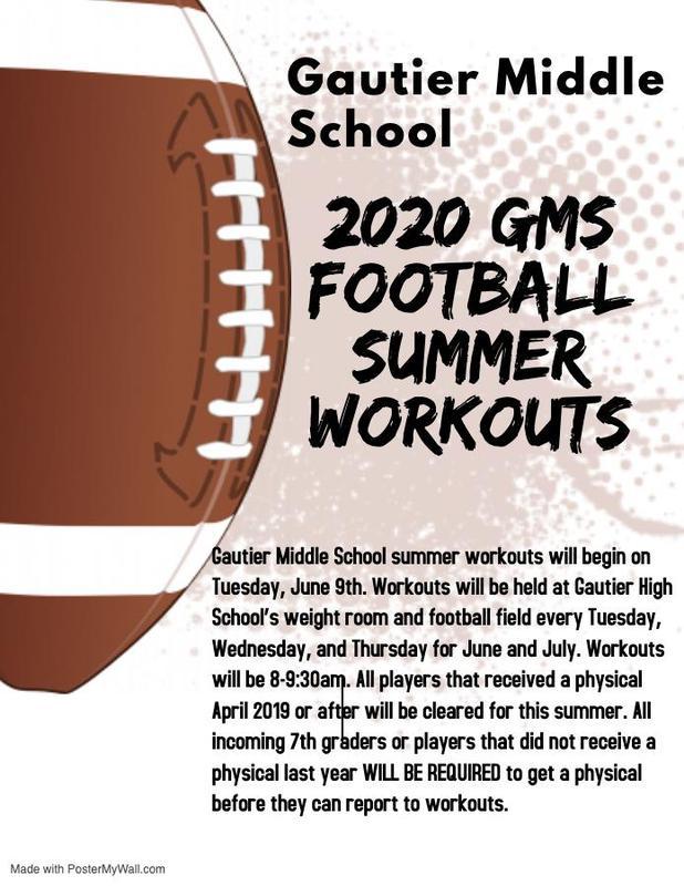 2020 summer football workout