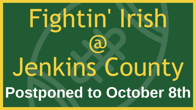 Jenkins County Game Postponed