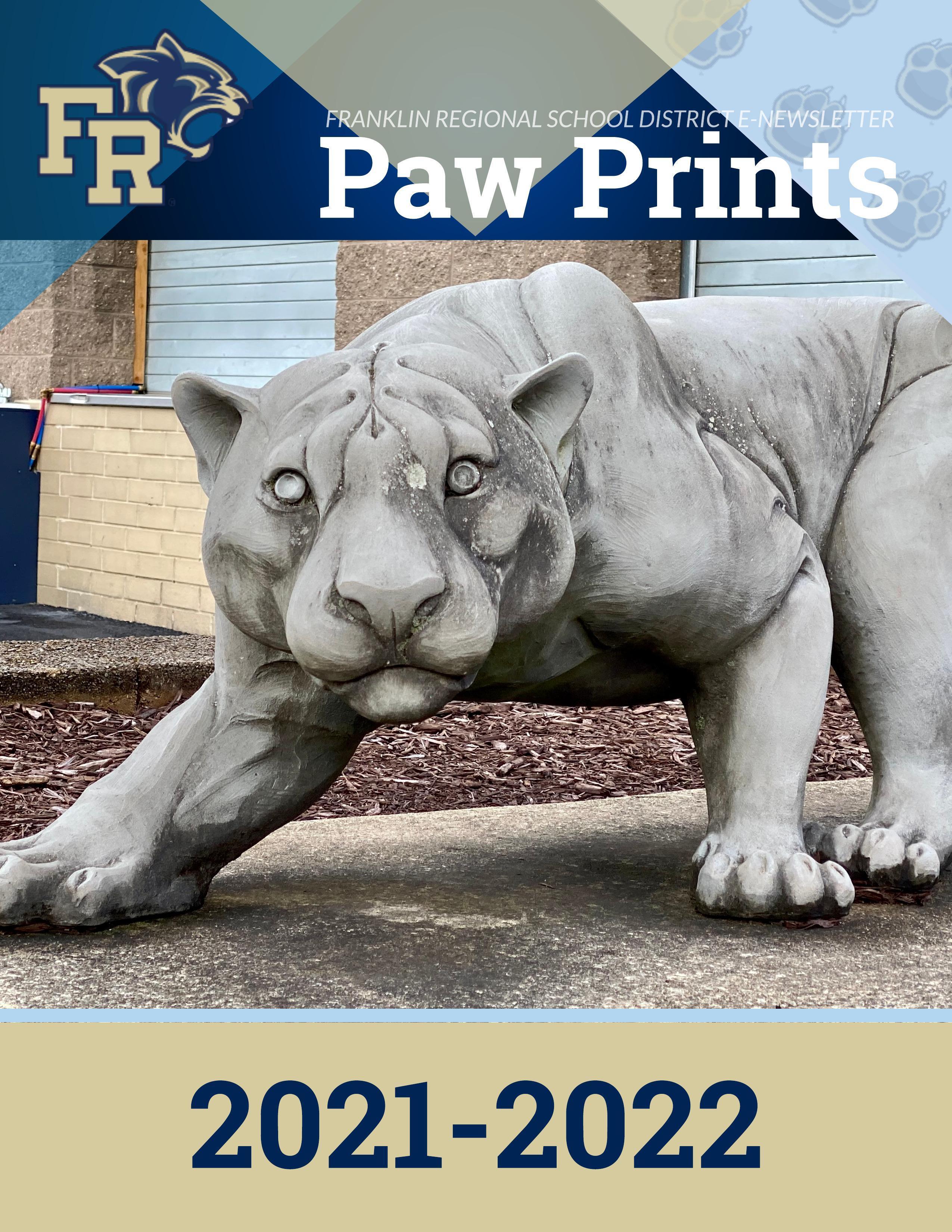 Paw Prints Volume 6 2021-22